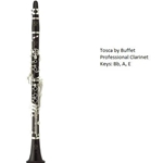 Buffet Crampon Tosca Professional Clarinets (Bb, A)